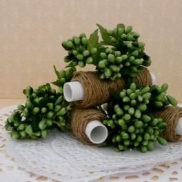 Pręciki drobne w kiściach 5 szt. zielone