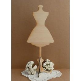 Manekin w sukience 3D