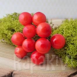 Owoce głogu 10 mm pomarańczowe 10 szt.