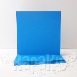 Bazy kwadratowe, niebieskie, 5 szt.