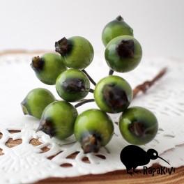 Owoce głogu zielone