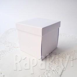 Exploding box mały biały
