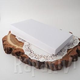 Pudełko na kartkę DL 2,5 cm, 300 g, białe