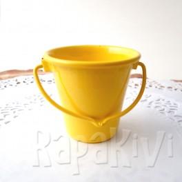 Wiaderko 4,5 cm żółte