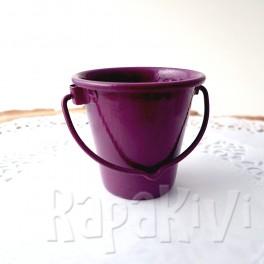 Wiaderko 4,5 cm purpurowe