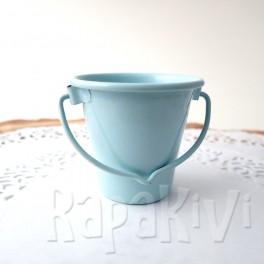 Wiaderko 4,5 cm błękitne
