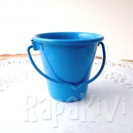 Wiaderko 4,5 cm niebieskie
