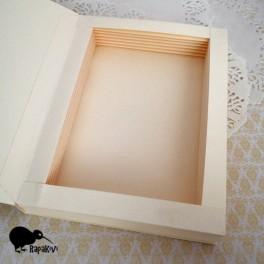 Baza kartki-książki pionowa kremowa