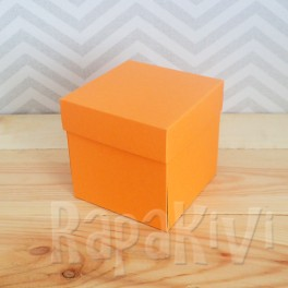 Exploding box duży pomarańcz