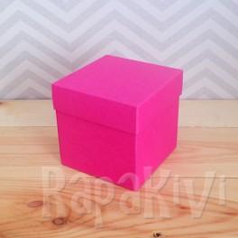 Exploding box duży magenta