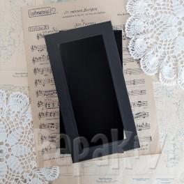 Pudełko z okienkiem DL czarne