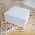 Pudełko mini 8x8x4 cm, 300 g, białe