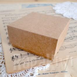 Pudełko 8x8x4 cm kraft