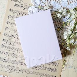 Pudełko na kartkę A6 róż pastelowy