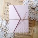 Baze kopertowe A6 pastelowy róż 5 szt.