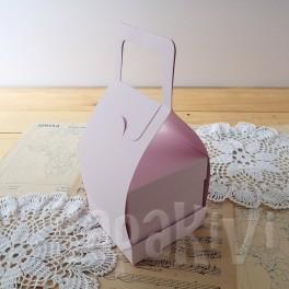 Nosidełko do boxa 10 cm róż pastelowy