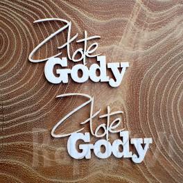 Złote Gody - napis