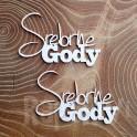 Srebrne Gody - napis