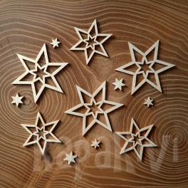 Gwiazdki - zestaw 3