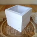Exploding box z okienkiem 10 cm biały
