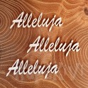 Alleluja - napis 8 cm