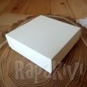 Pudełko mini 10x10x3,5 cm kremowe