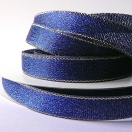 Wstążka brokatowa 12 mm niebieska