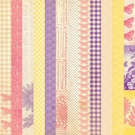 Lacy Sunset - zestaw papierów