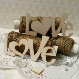 Love - napisy duże - 2 szt.