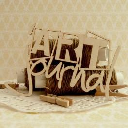 ART journal - napis