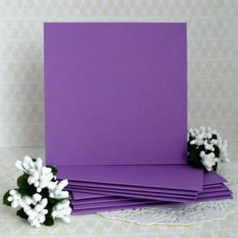 Bazy kwadratowe, fioletowe, 5 szt.