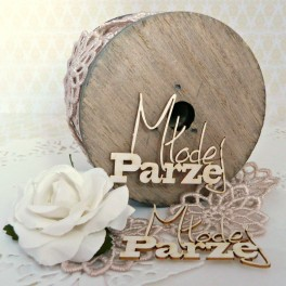 Młodej Parze - napis