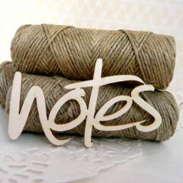 Notes 1- napis