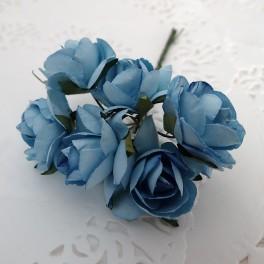 Duże klasyczne róże niebieskie