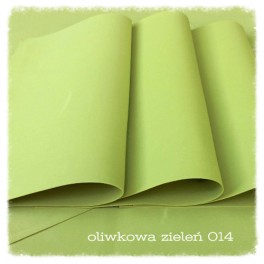 Foamiran 014 - oliwkowa zieleń