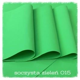 Foamiran 015b - soczysta zieleń