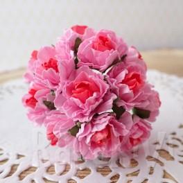 Goździki 20 mm różowe
