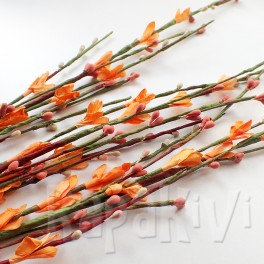 Gałązka kwiatowa pomarańczowa