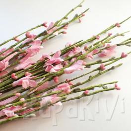 Gałązka kwiatowa różowa