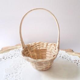 Mini koszyk wiklinowy