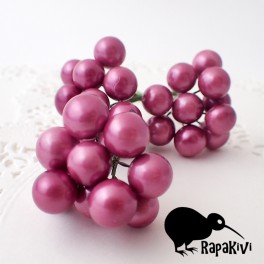 Kule perłowe 10 mm wrzosowe 10 szt.
