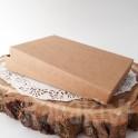 Pudełko na kartkę A6, 2,5 cm, kraft