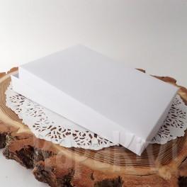 Pudełko na kartkę A6, + baza pozioma, białe
