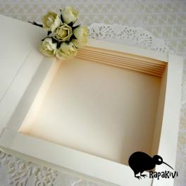 Baza kartki-książki 17,5 cm kremowa