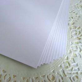 Karton 300 g 30x30 cm biały