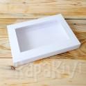 Pudełko z okienkiem A6, 300 g, białe