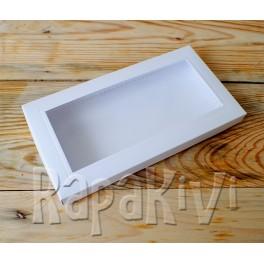 Pudełko z okienkiem DL 2,5 cm, 300 g, białe