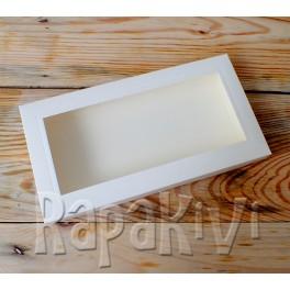 Pudełko z okienkiem DL 2,5 cm, 300 g, krem