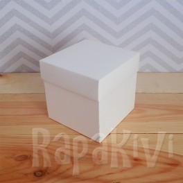 Exploding box duży kremowy