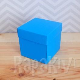 Exploding box duży niebieski